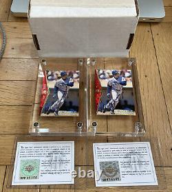 1995 Upper Deck SP Buy Back KEN GRIFFEY JR AUTOGRAPH UDA COA #100 HOF Lot of 2