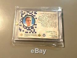 1999 Peyton Manning Upper Deck Autograph Game Used Football Uda Auto Sp Signed