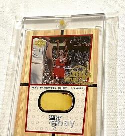 1999 Upper Deck Michael Jordan Final Shot Floor SP 12,500 Packs 2 Color UDA