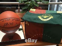 1/1 LeBron James Autographed 2003 #1 Draft Pick NBA Basket Ball UDA Upper Deck