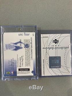 2001 UD Michael Jordan 1/1 Buyback AUTO UNC FLOOR Game Floor UDA COA BGS PSA