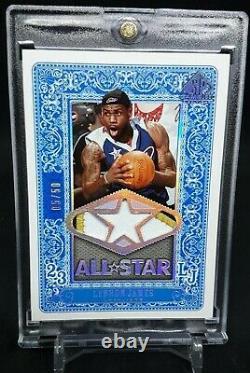/50 All Star Game Used Lebron James Jersey Patch 06-07 ASG MVP UDA BGS/PSA Cond