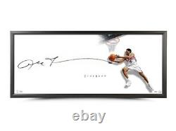 Allen Iverson Signed Autographed 20X46 Photo Framed The Show Reverse 76ers UDA