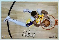 Anthony Davis Signed 24x16 LA Lakers Photo autographed LE100 Upper Deck UDA coa