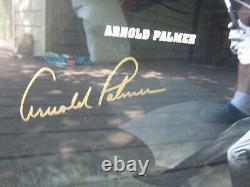 Arnold Palmer Jack Nicklaus Tiger Woods Autograph Framed Photo #70 of #250 UDA