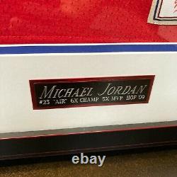 Beautiful Michael Jordan Signed 1989 All Star Game Jersey Upper Deck UDA COA