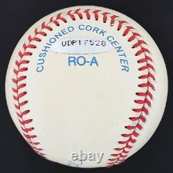 Beautiful UDA Mickey Mantle NO. 7 Signed OAL Baseball Upper Deck COA
