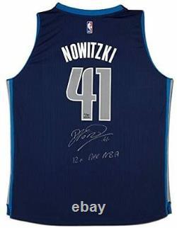 DIRK NOWITZKI Autographed Mavericks 12x All NBA Swingman Jersey UDA LE 1/10
