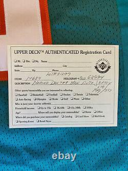 Dan Marino Signed Autographed Wilson Jersey Upper Deck UDA COA /343