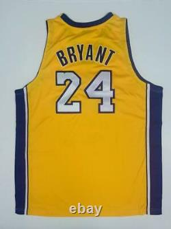 KOBE BRYANT Autographed 07-08 NBA MVP Authentic Lakers Jersey UDA LE 124