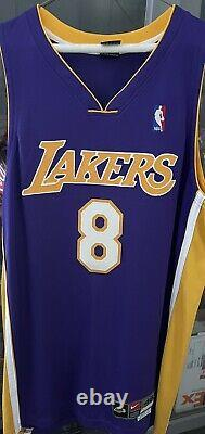 KOBE BRYANT Autographed Authentic Lakers Jersey Upper Deck Authenticated UDA