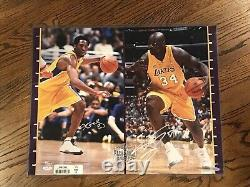 KOBE BRYANT SHAQUILLE ONEAL Auto Autograph Signed UDA 16x20 Photo #/125