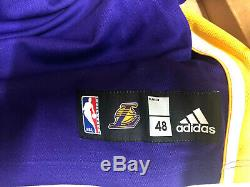 KOBE BRYANT signed LAKERS MVP Jersey UDA LIMITED TO 9/124
