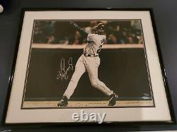 Ken Griffey Jr Mariners signed framed matted 16x20 177/300 photo UDA Autograph