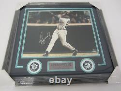 Ken Griffey Jr Mariners signed framed matted 16x20 Ltd Ed 120/300 photo UDA CAS