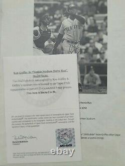 Ken Griffey Jr Signed 16x20 UDA NUMBERED Auto