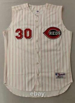 Ken Griffey Jr. UDA Signed Cincinnati Reds Jersey Upper Deck COA with Box