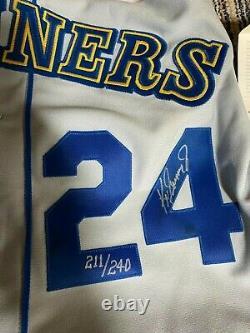 Ken Griffey Jr. UDA Upper Deck Signed Autograph 1989 Rookie Jersey 211/240 WithBOX