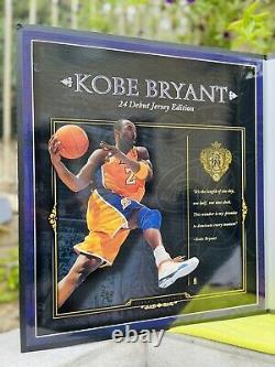 Kobe Bryant Autograph Jersey Archive UDA Yellow 91/124