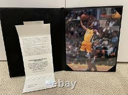 Kobe Bryant Autographed 8x10 UDA Upper Deck Photo Auto Signed PortfolioBook RARE
