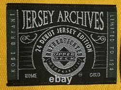 Kobe Bryant Autographed Jersey Archives #24 Debut Limited 124 Auto UDA Full Name