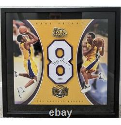 Kobe Bryant Autographed Uda Jersey Number With Plate & Photos