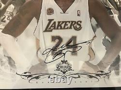 Kobe Bryant Lakers UDA autograph photo /lithograph MVP collage 2007-2008