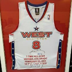 Kobe Bryant Signed 2005 All Star Game Jersey UDA Upper Deck COA