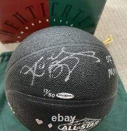 Kobe Bryant Signed 2007 ALL STAR MVP Basketball UDA Ltd. 17/50 Price Drop 8 Hr