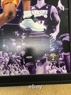 Kobe Bryant Signed 20x28 Canvas Upper Deck UDA Authenticated Limited 100/108