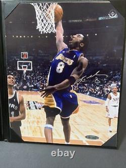 Kobe Bryant Signed 8x10 Photo UDA Upper Deck All Star Game Dunk Lakers Autograph