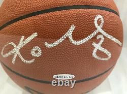 Kobe Bryant Signed Auto BOLD Basketball Lakers Upper Deck UDA with Case RARE #8