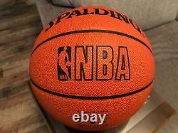 Kobe Bryant Signed Auto Official Spalding NBA Basketball Lakers UDA Upper Deck