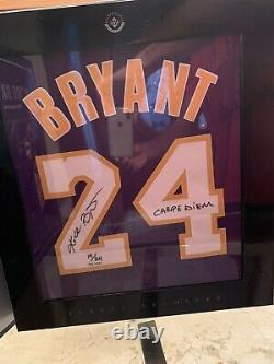 Kobe Bryant Uda Upperdeck Auto Signed Inscribed Archive Limited Purple Jersey