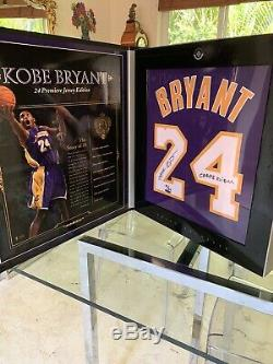Kobe Bryant Upper Deck UDA Auto Jersey Signed Inscribed Limited 24 Archive Box P