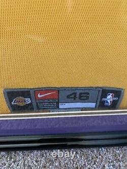 Kobe bryant autographed jersey uda