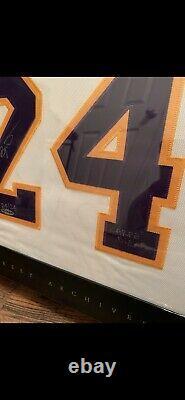 Kobe bryant autographed jersey upper deck Uda Signed Auto 24/24 Carpie Diem