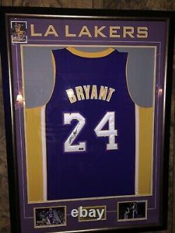 Kobe bryant signed jersey uda