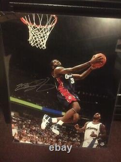 LEBRON JAMES UPPERDECK UDA 16x20 SIGNED AUTOGRAPHED LIMITED AUTO 27/123 NBA CAVS