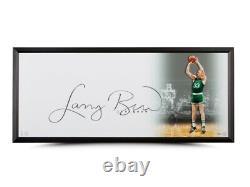 Larry Bird Signed Autographed 20X46 Framed Photo The Show Celtics Huge Auto UDA
