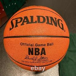 LeBron James 2004 Rookie Of The Year Signed Basketball With UDA Upper Deck COA