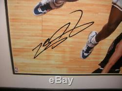 LeBron James Rookie auto Signed 16x20 photo photograph Upper Deck UDA COA