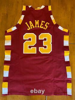 LeBron James Signed Autographed Hardwood Classics Jersey Upper Deck UDA JSA LOA