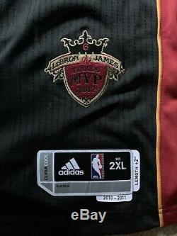 LeBron James Upper Deck UDA Autographed Limited Edition 7/12 Dual Embroided