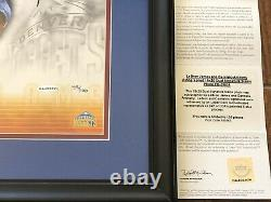 Lebron James Carmelo Anthony Dual Signed UDA Upper Deck 16x20 COA Auto # 59/100