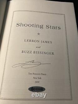 Lebron James Signed Autograph Shooting Stars Book La Lakers Upper Deck Uda Coa