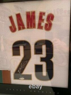 Lebron James Signed Home Cavaliers Jersey Archives 7/123 Auto UDA Upper Deck