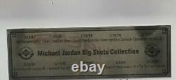 MICHAEL JORDAN Autographed HARDWOOD FLOOR 1987 to 1994 CHICAGO BULLS. UDA
