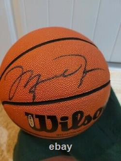 MICHAEL JORDAN HOF Signed Full Size Wilson Basketball AUTO Upper Deck UDA COA