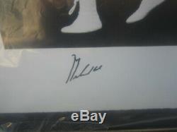 MUHAMMAD ALI MICHAEL JORDAN TIGER WOODS Autograph Framed Photo #15 of #500 UDA